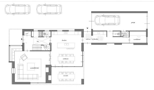 Vrijstaande nieuwbouwwoning in haarsteeg ph bouwadvies for Indeling woning